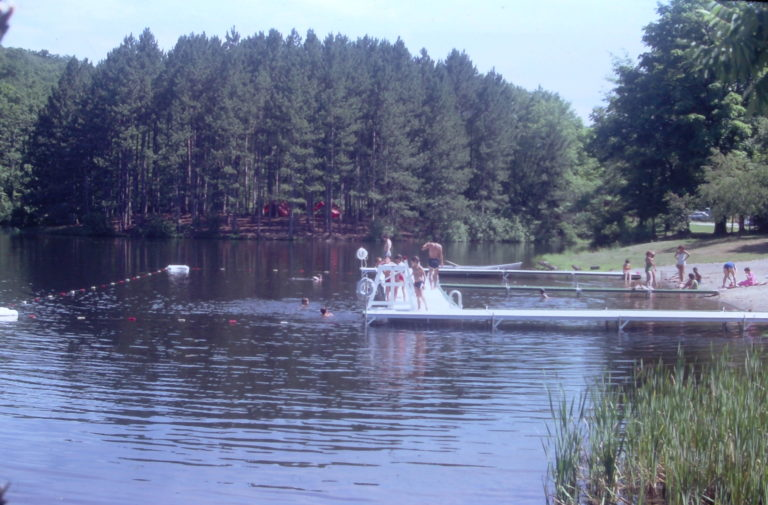 swimming and piney point 1980